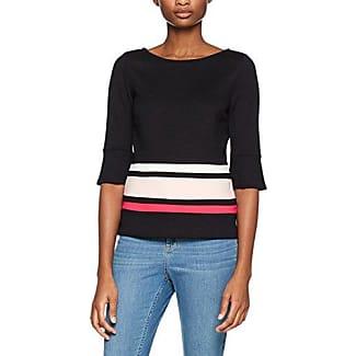 s.Oliver Black Label 11 801 39 4104, Camiseta para Mujer, Negro (Black 9999), 36