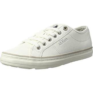 s.Oliver 23625, Zapatillas para Mujer, Blanco (White Nappa), 42 EU