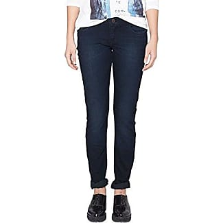 S.Oliver Denim 45.899.71.0288 - Vaqueros para mujer, color blau (blue denim,medium stone w 58z4), talla W25/L32 (25) amazon el-negro