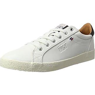 s.Oliver 13636, Zapatillas Para Hombre, Blanco (White Comb.), 43 EU