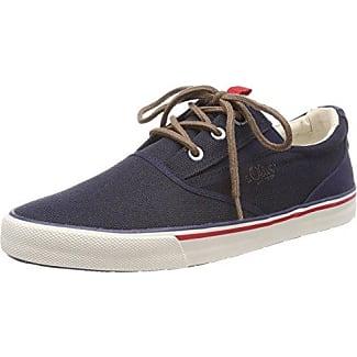 13604, Zapatillas para Hombre, Azul (Navy), 42 EU s.Oliver