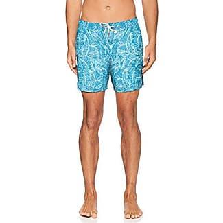 24704747317, Pantalones Cortos de Baño Premamá para Hombre, Multicolor (Palm Tree AOP Ocean Blue 56A1), XL s.Oliver