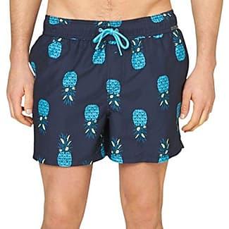 24704747414, Pantalones Cortos de Baño Premamá para Hombre, Mehrfarbig (Palm Tree AOP Turquoise 73A1), XXX-Large s.Oliver