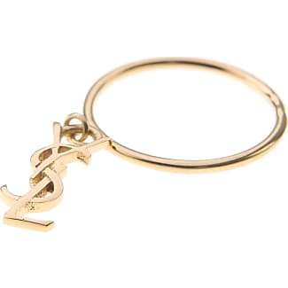 Saint Laurent Ring for Women, Yellow Gold, Vermeil, 2017, One Size