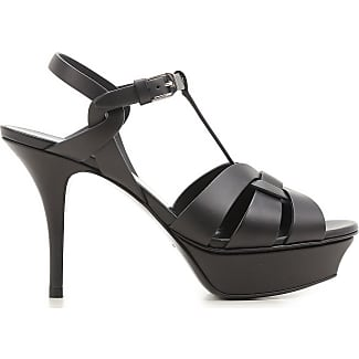 Zapatos de Mujer, Negro, Charol, 2017, 36 37 38 38.5 39.5 40 Saint Laurent