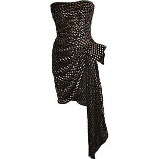 Black bow cocktail dress mini