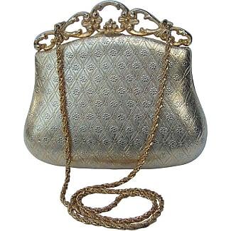 Saks Fifth Avenue Polished Black Snake Evening Clutch And Shoulder Bag