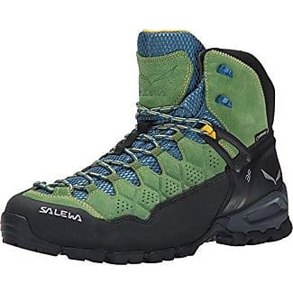 MTN Trainer Mid Gore-Tex, Scarpe da Escursionismo Donna, Multicolore (Magnet/Viridian Green), 43 EU Salewa