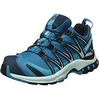 Salomon XA lite GTX W, Zapatillas de Running para Mujer, Azul (Blue Bird/Tahitian Tide/Astral Aura), 45 1/3 EU