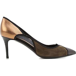 Zapatos de Tacón de Salón Baratos en Rebajas, Negro, Piel, 2017, 35.5 36.5 37 37.5 Salvatore Ferragamo