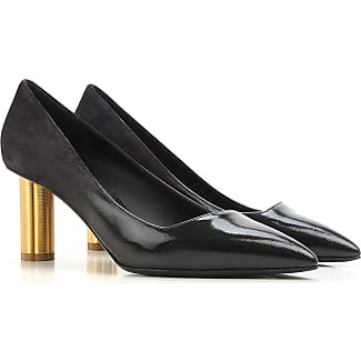 Zapatos de Tacón de Salón Baratos en Rebajas, Magenta, Gamuza, 2017, 35.5 36 36.5 37.5 38 39.5 Salvatore Ferragamo