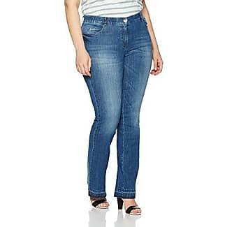 Elasticated slip-on trousers, Lucy blue female Samoon