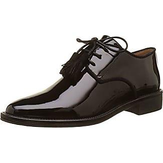 Newton Perfo, Zapatos de Cordones Brogue para Mujer, Plata (Silver), 36 EU Schmoove