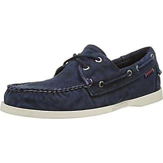 13608, Chaussures Bateau Homme, Bleu (Navy 805), 41 EUs.Oliver