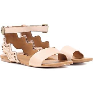 Sandalias de piel con adornos See By Chloé