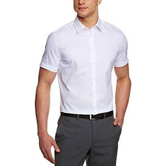 676521, Chemise de Costume Homme, Blanc (01), 38Seidensticker