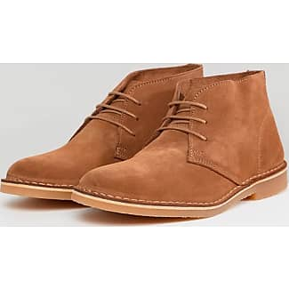 Selected Shhroyce High Suede Boot, Cargadores Clásicos para Hombre, Marrón (Cognac), 45 EU Selected