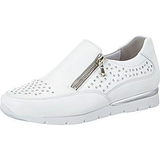 Semler N8065-208, Zapatillas Mujer, Blanco (Weiss-Silber), 40 EU