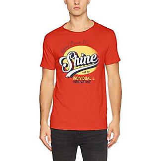 Mens Logo Print Tee S/S T-Shirt Shine Original