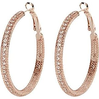 Simons Crystal hoop earrings