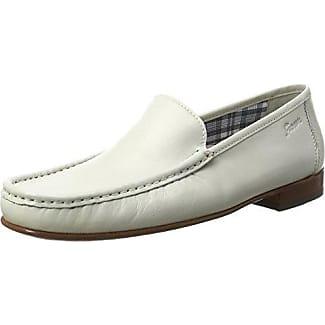 Sioux Grashopper-H-141, Mocassins (Loafers) Homme - Blanc - Weiß (Marine-Paint), 40.5