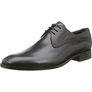 Sioux 28270 - Zapatos de cordones, color Schwarz/Schwarz, talla 41