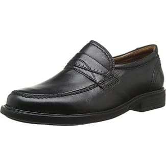 Sioux Kalias - Zapatos con Cordones de Cuero Hombre, Color Negro, Talla 42.5