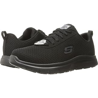 Skechers Flex Advantage Sr Bendon Black Mesh Water Stain Repellent Treatment