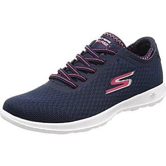 Skechers Hi Lite-Satin Stoppers, Zapatillas Para Mujer, Azul (Navy), 40 EU