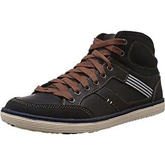 Skechers Synergy Power Shield, Chaussures de sports en salle homme - Gris (Ccnv), 41 EU (7 UK) (8 US)