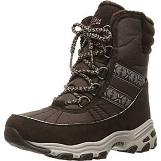 Women's D'Lites-Chateau-Lace up Winter BootChocolate Heathered6 M US
