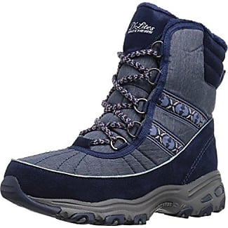 Women's D'Lites-Chateau-Lace up Winter BootNavy8 M US
