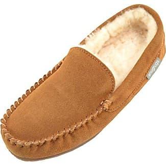 Zapatos azul marino Snugrugs para hombre