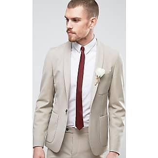 Chaqueta de traje de boda ajustada con solapas tipo esmoquin de Hart Hollywood Spencer Hart