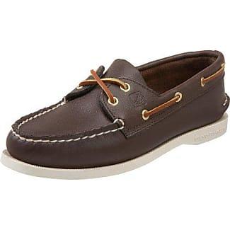 Sperry A/O 2-Eye - Zapatos de cordones, color Sahara, talla 11 Uk Ww
