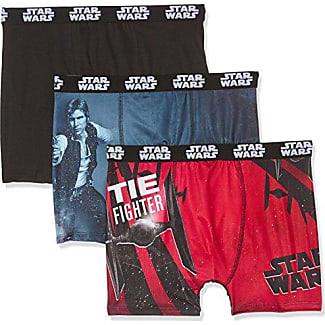 SW/AM/1/PK5, Bóxer para Niños, Multicolor (Multicolor B3), L, Pack de 6 Star Wars