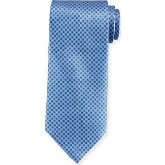 Ties On Sale, Dusty Light Sky Blue Melange, Silk, 2017, one size Vivienne Westwood