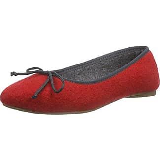 Danseuses Femme Noir/Rouge 37 EUBisue Ballerinas