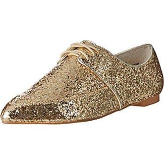 Schmoove Newton Perfo, Zapatos de Cordones Brogue para Mujer, Plata (Silver), 36 EU