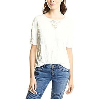 Street One 311584, Camiseta para Mujer, Weiß (Off White 10108), 42