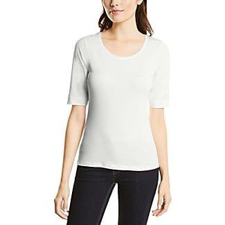 Street One Ulrika Mit Druck, Camiseta para Mujer, Weiß (Off White 20108), 38