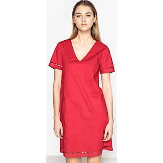 Robe rouge framboise