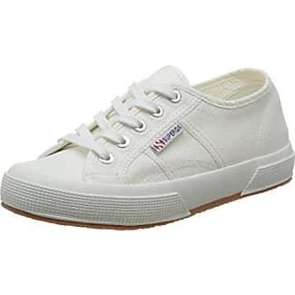 Superga 2730-Cotu, Zapatillas para Mujer, Blanco (White 901), 35 EU