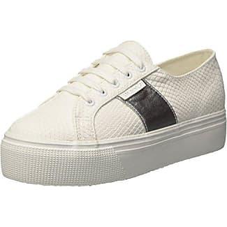 Superga 2730-Cotropew, Zapatillas para Mujer, Blanco (White 901), 36 EU