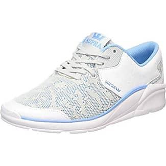 Supra Sneaker Donna, Grigio (Grigio (Light Grey/Aqua Wht)), 40.5 EU