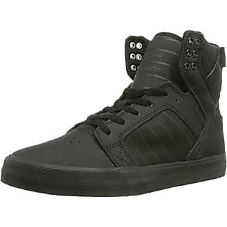 Skytop - Sneaker Alte Uomo, Nero (Schwarz (Black/Black - Black)), 44.5 EU Supra