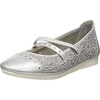 Supremo Damen 4828203 Slipper, Beige (Mud-Silver), 40 EU