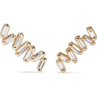 18-karat Rose Gold Diamond Earring - one size Suzanne Kalan