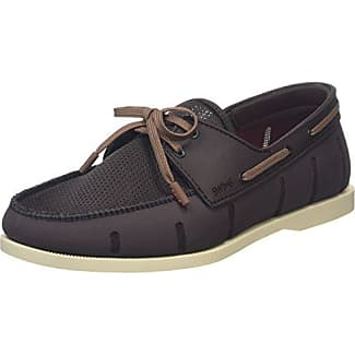 Boat Loafer, Mocassins Homme, Brown (Brown/Cream), 42.5 EUSwims