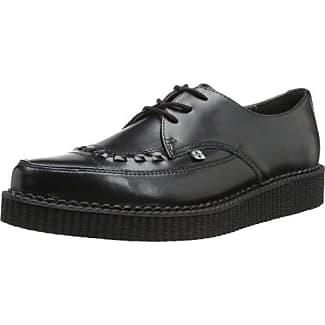 TUK Shoes - Zapatos de cordones unisex, color Grau - Gris (Grey & Black), talla 36